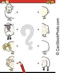 education game cartoon illustration - Cartoon Illustration...