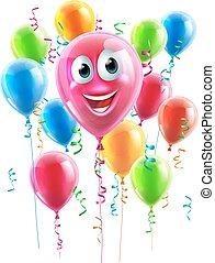 Balloon Cartoon Character