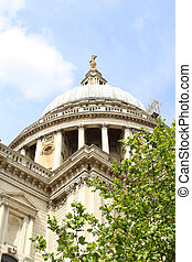 St Pauls Cathedral, London England - Dome of St Pauls...