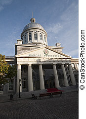 Marche Bonsecours, at old Montreal, Canada