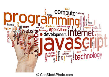 Javascript word cloud - Javascript concept word cloud...