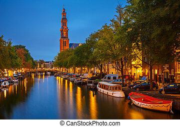 Western church in Amsterdam