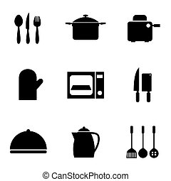Utensils Icons set - Utensils Icons set 9
