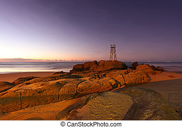 Redhead Beach - Newcastle Australia - Morning Sunrise -...