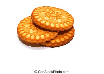 ookies - photo of the cookies on white background