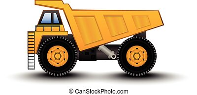 Dump Truck - colorfull