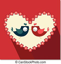 Love Bird - colorfull