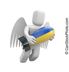 guerra, em, Ucrânia,