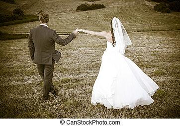 recién casados,