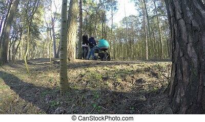 family stroller park