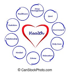 Diagram of health