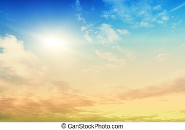 cielo, belleza, Plano de fondo