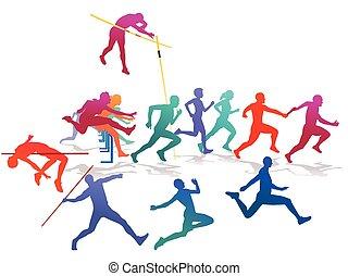 Sportfesteps - sporting event