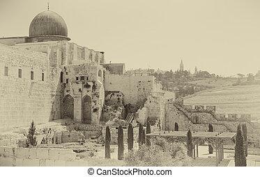 Al-Aqsa Mosque of Omar - Jerusalem, Al-Aqsa Mosque of Omar...