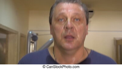 Getting tired and sweaty on treadmill - Using treadmill in...