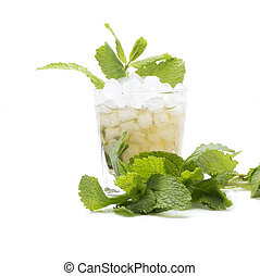 mint julep isolated