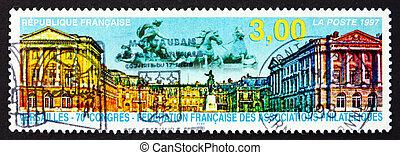 Postage stamp France 1997 Versailles - FRANCE - CIRCA 1997:...