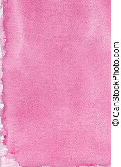 Pink natural handmade aquarelle painting texture pattern,...