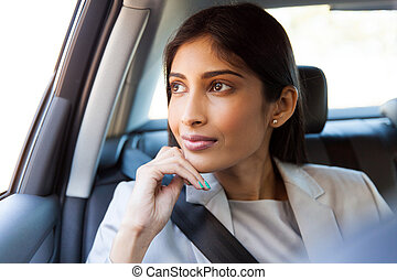 indian business executive daydreaming - pretty indian...
