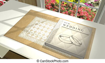 Custom Wedding Album Animation - A 3d animated wedding album...