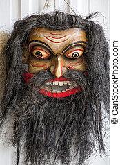 Sri Lankan handmade masks from evil spirits