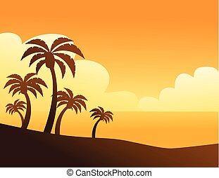 Summer color background