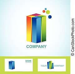 Real estate business corporate logo icon