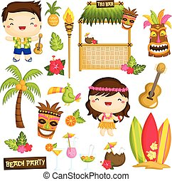 Hawaii Luau Kids