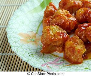 Gobi manchurian - Cauliflowerindian cuisine
