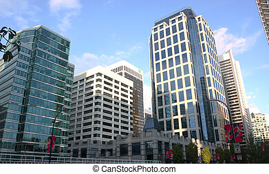 Downtown Vancouver BC. - Downtown Vancouver BC corporate...