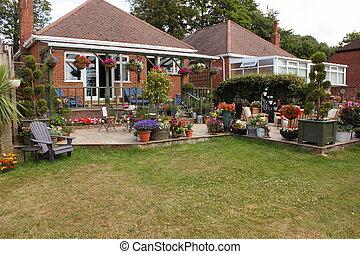 An English garden