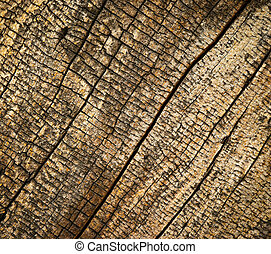 old rotten wood - abstract background or texture old rotten...
