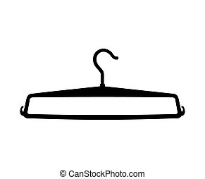 Clothes Hanger vector icon