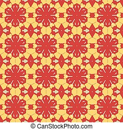 Seamless tile - Abstract Retro Geometric seamless pattern...