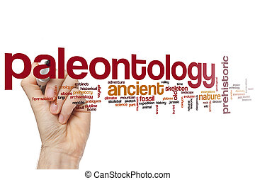 Paleontology word cloud - Paleontology concept word cloud...