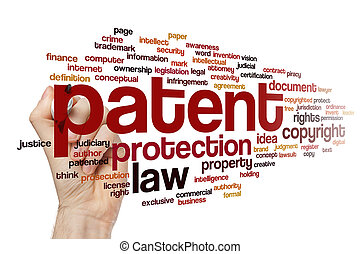 Patent word cloud concept - Patent word cloud