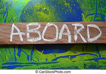 aboard - abboard word