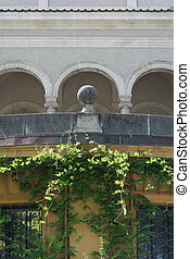 Classicial Architecture with Vines - Classical Architecture...