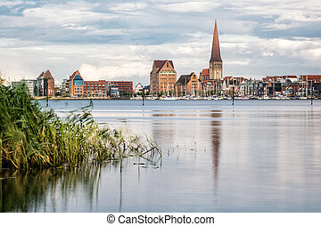 View to Rostock