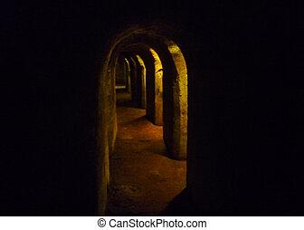 San Felipe de Barajas Tunnels in Cartagena - Tunnels of San...