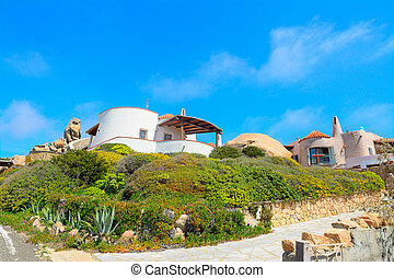 beautiful houses in Gallura, Sardinia