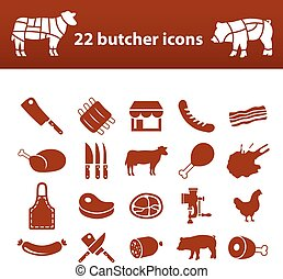 butcher icons