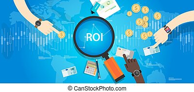 ROI Return on of investment business plan
