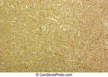 Particleboard - Wood shredded into tiny chips combined with...