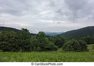 Catskill Mountains - A beautiful view of the Catskill...