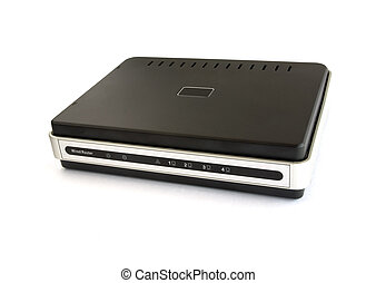 Wired network broadband router