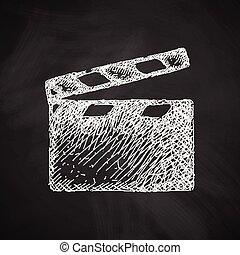 clapper cinema icon