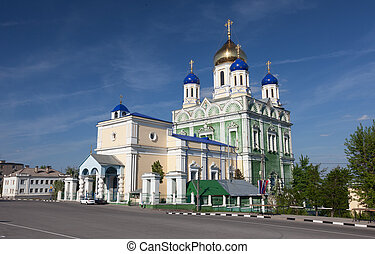 Ascension Cathedral in the city of Yelets, Russia