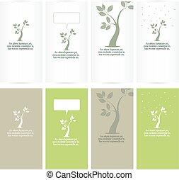 leaves design set