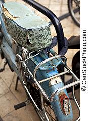 Moped - Old damaged moped in a flea market